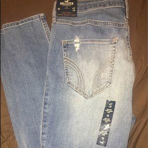 Women's Hollister skinny jeans